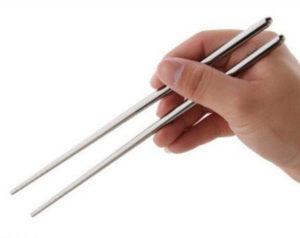 Стальные китайские палочки