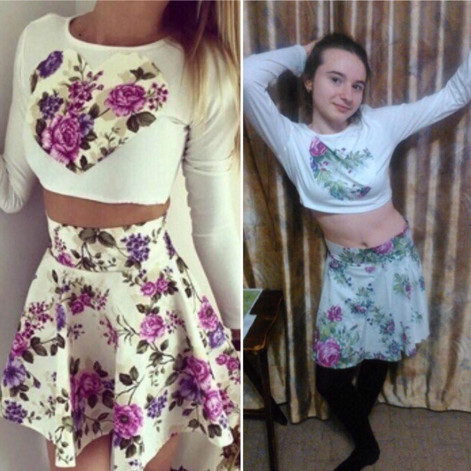 ожидание и реальность женское платье с алиэкспресс